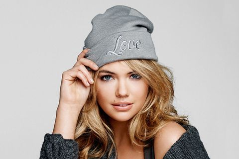 46f9525e54e Neff has teamed up with Kate Upton to create two limited edition Neff Hope beanies  in support of Stand Up To Cancer