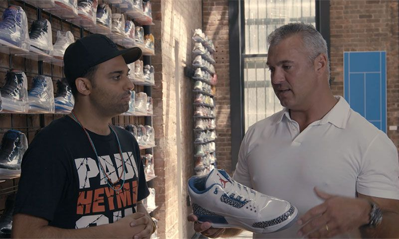 cee149d3b9b Watch Shane McMahon Go Sneaker Shopping With  Complex