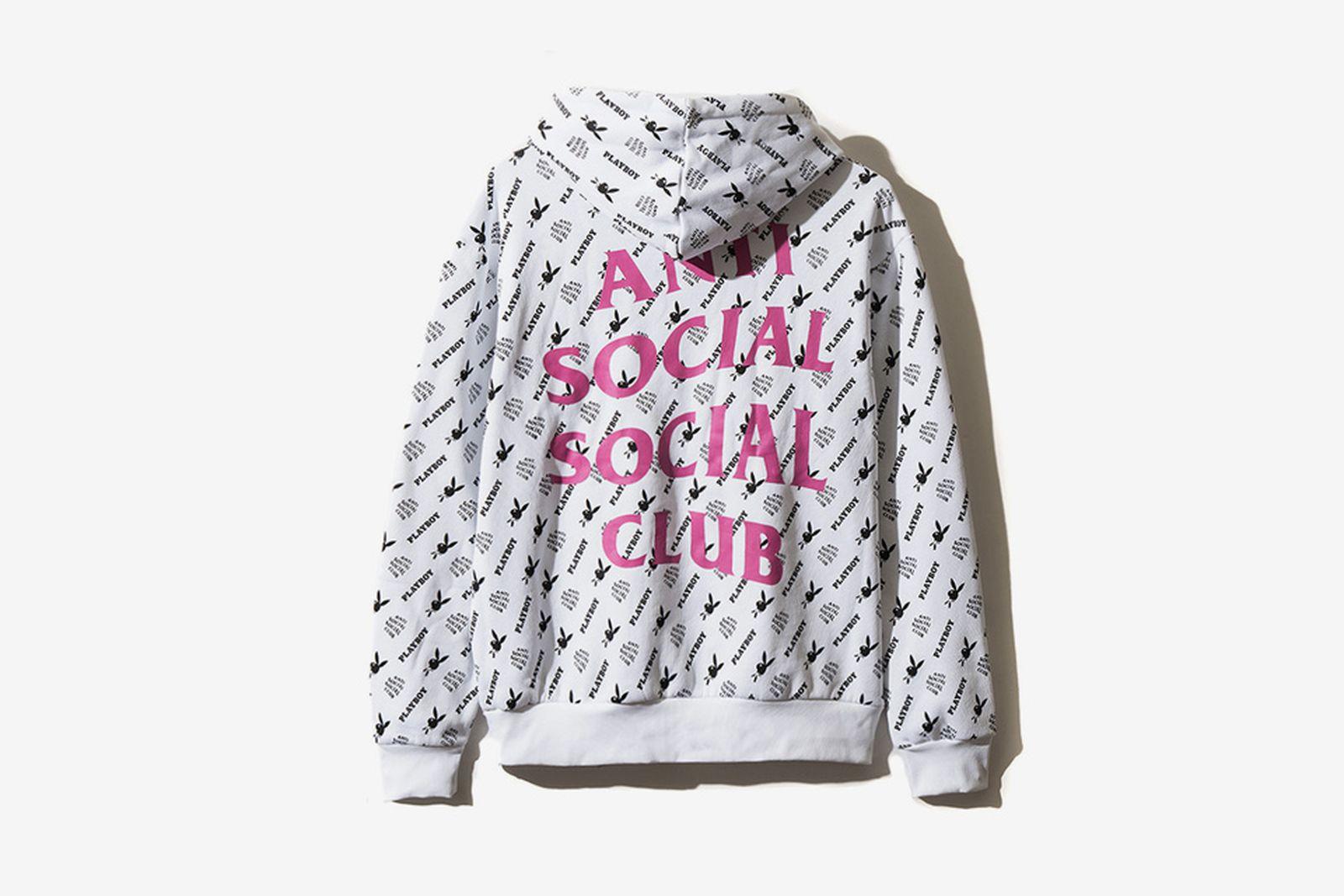 assc playboy Anti Social Social Club Playboy White Label