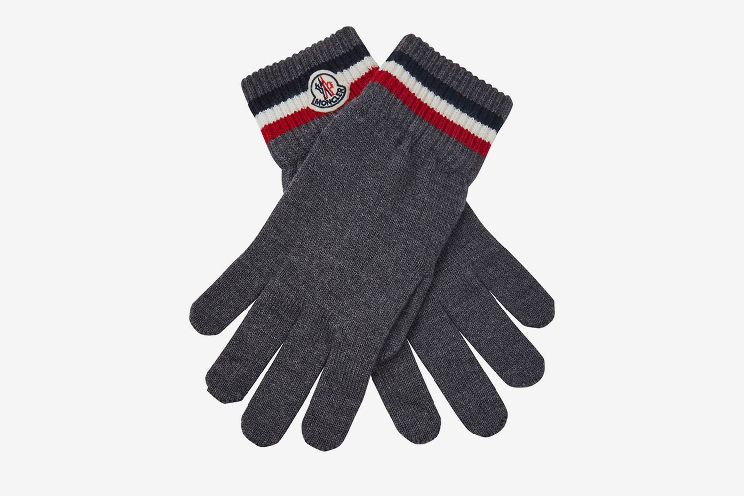 Striped Logo Gloves