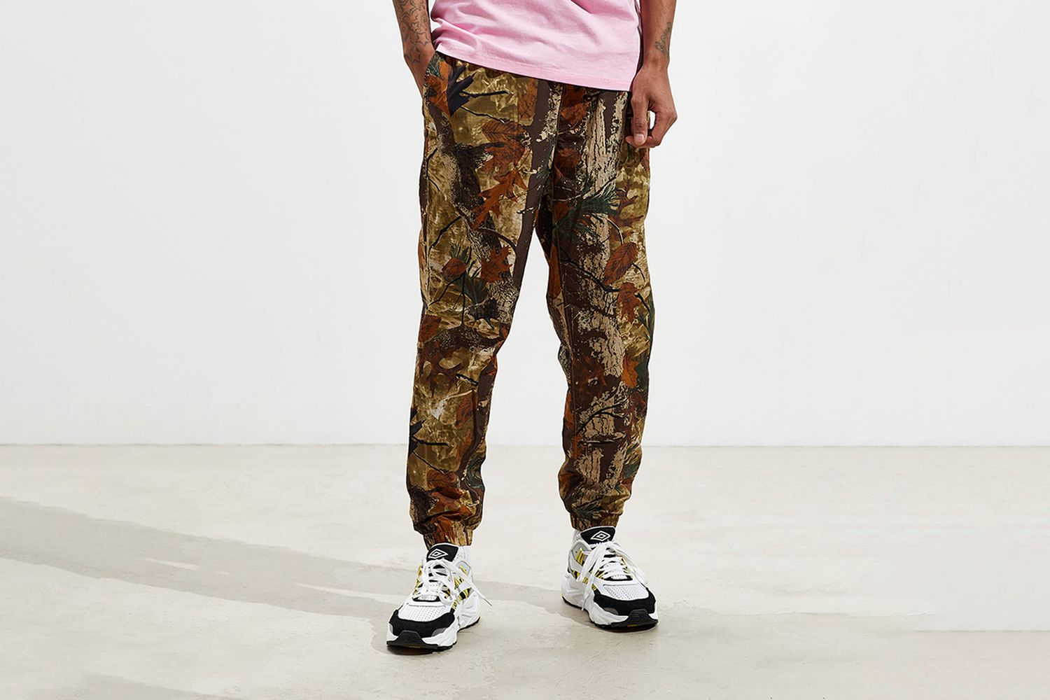 Camouflage Printed Wind Pant