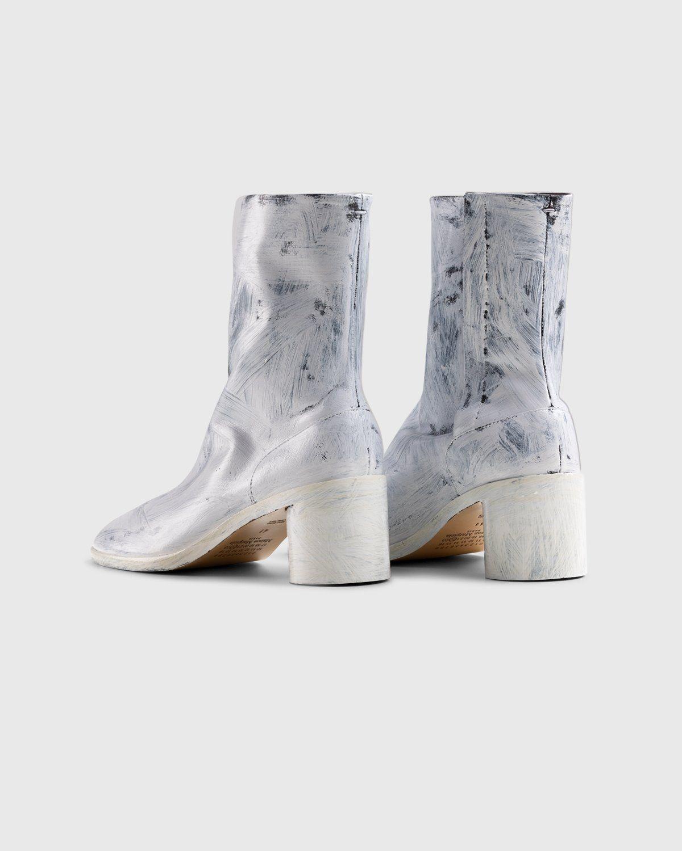 Maison Margiela – Tabi Bianchetto Chelsea Boots White - Image 3