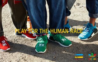 Pharrell Williams Adidas Unveil Colorful Hu Collection
