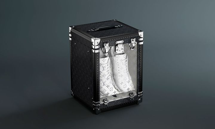 Louis Vuitton single sneaker box