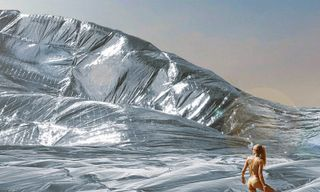 This Artist Wants to Cover Burning Man in a Massive NASA-Engineered Blanket