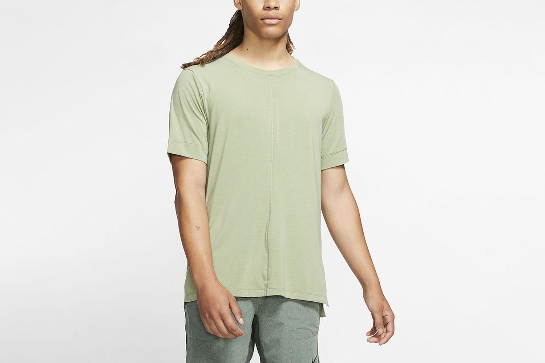 Dri-FIT Yoga Short-Sleeve Top