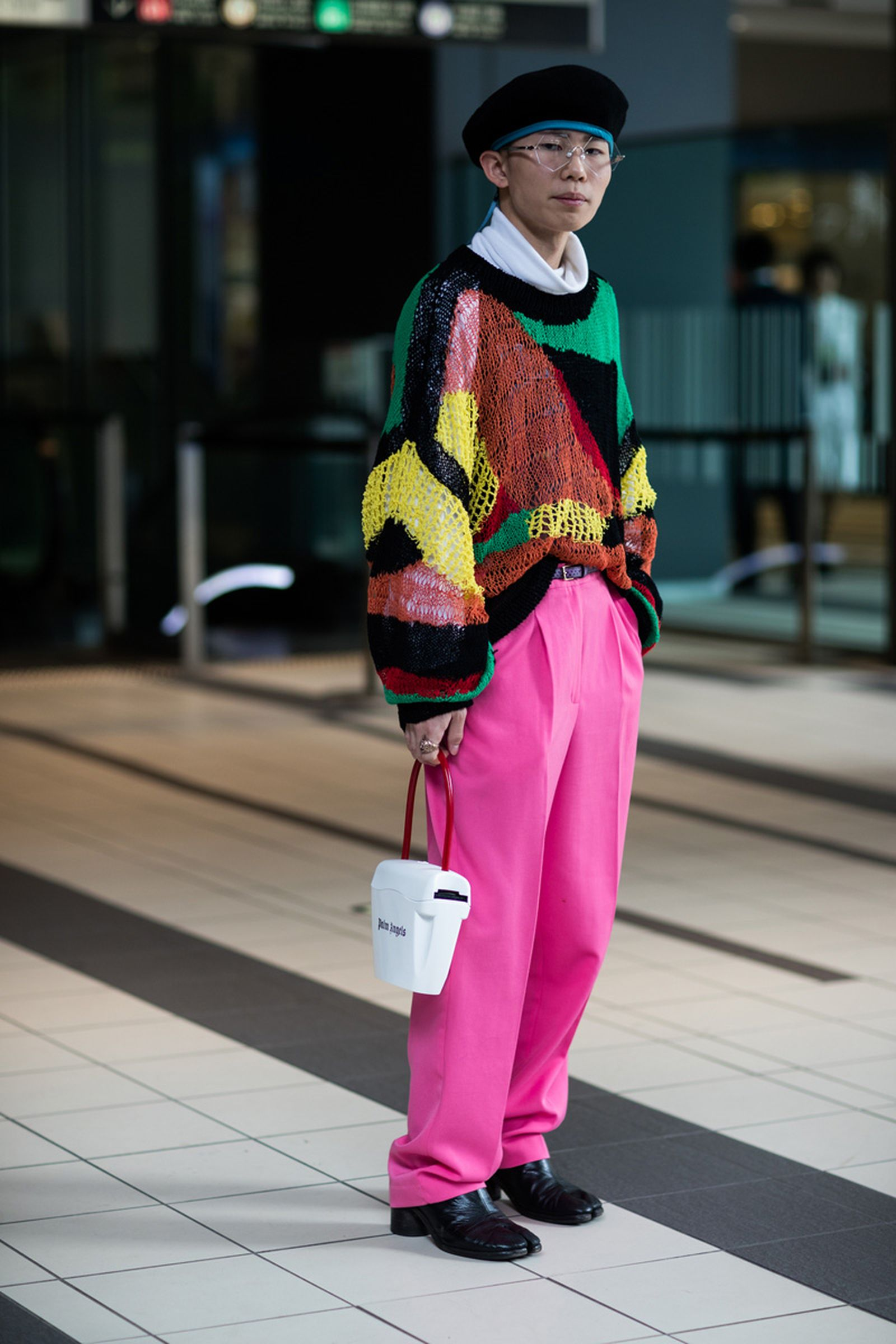10tokyo fashion week street style