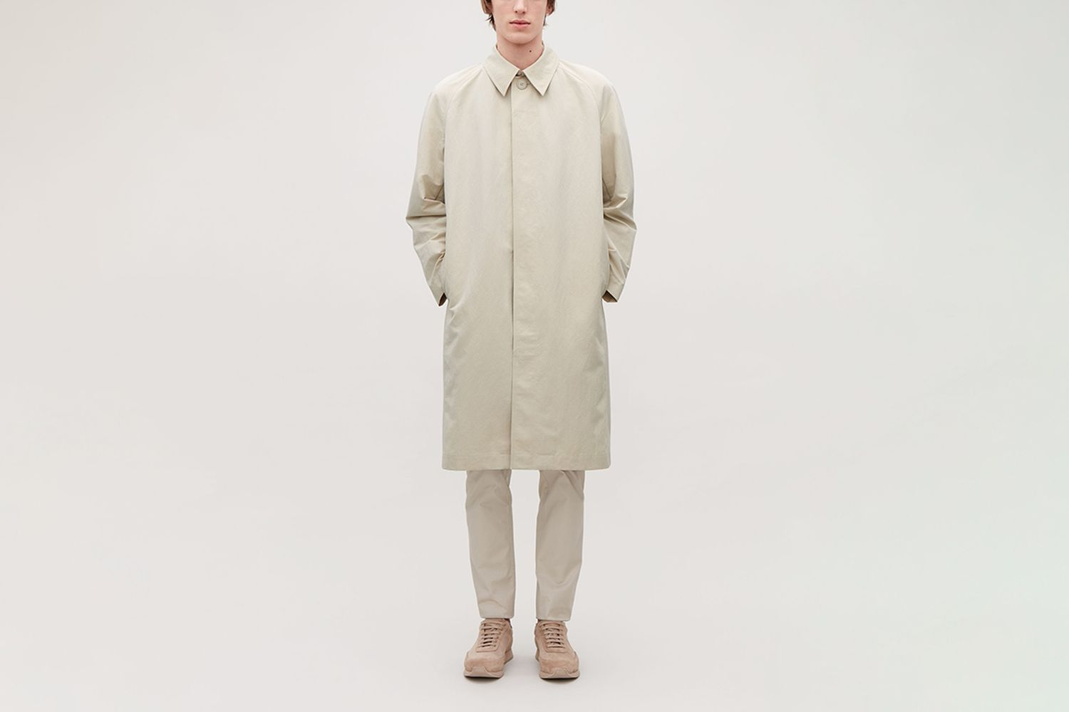 Trench Coat With Removable Lining