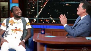 meek mill colbert The Late Show with Stephen Colbert