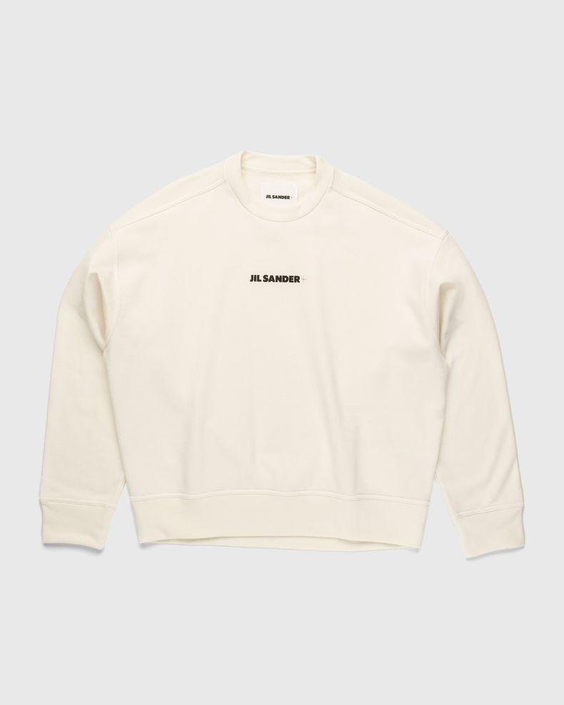 Jil Sander – Logo Sweater Natural