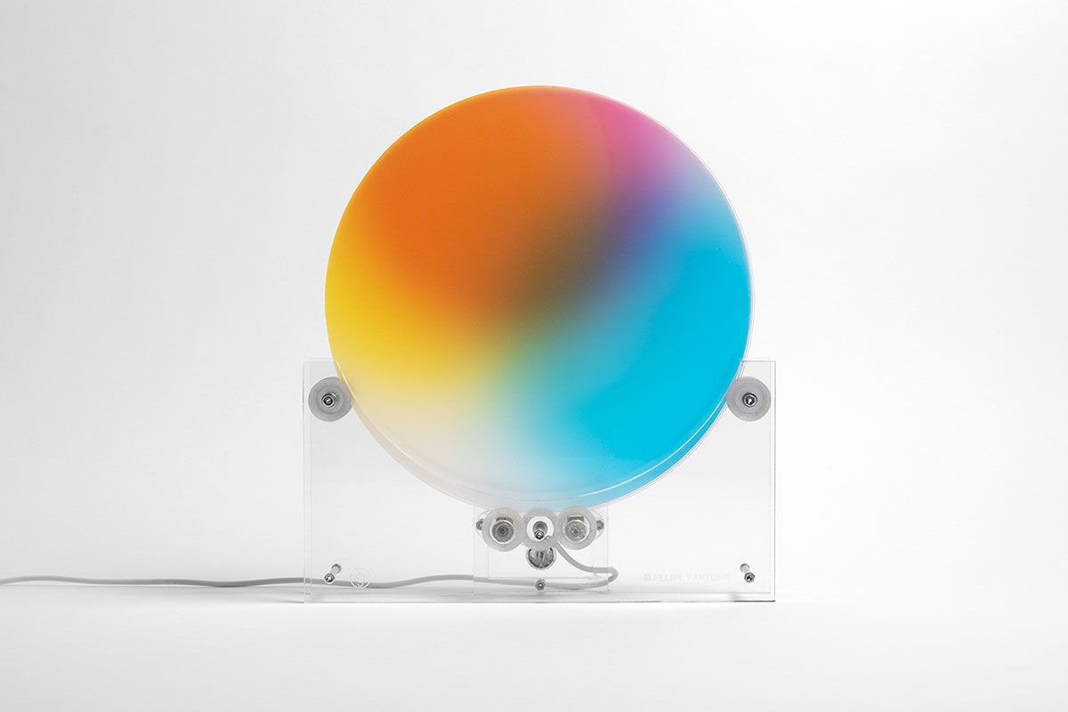Felipe Pantone & Case Studyo Team Up for Limited Edition Kinetic Sculpture