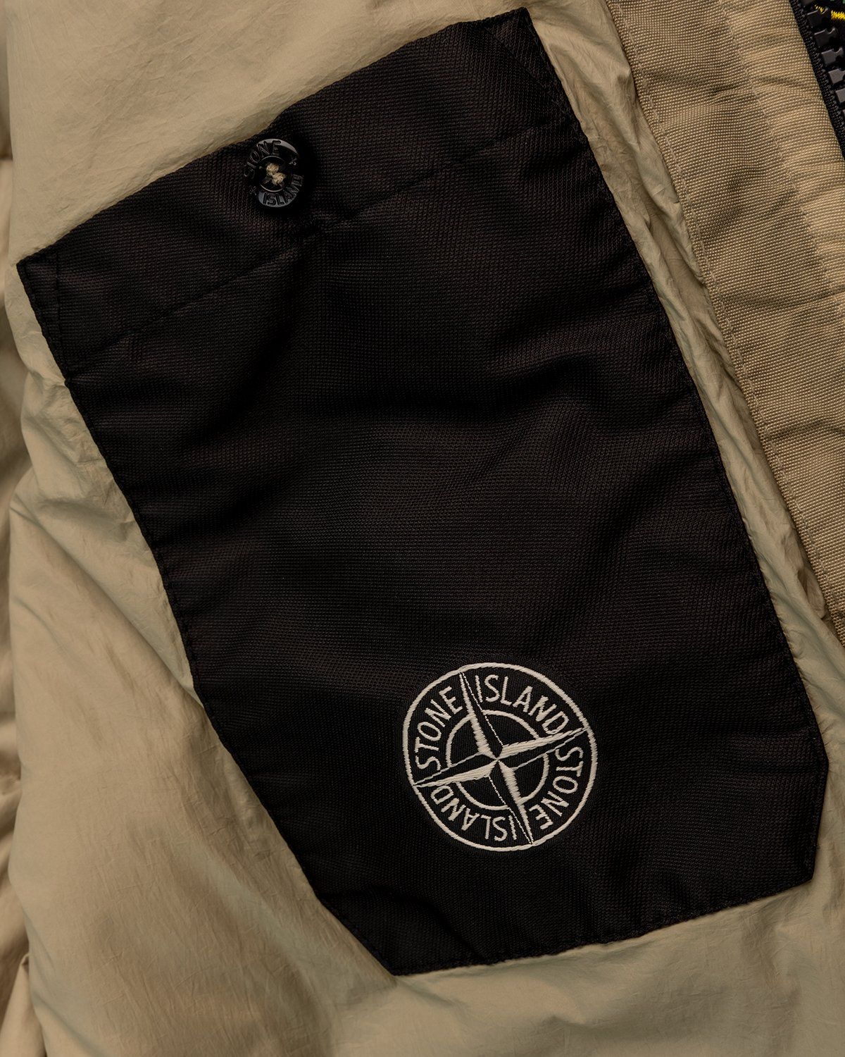 Stone Island – Real Down Jacket Natural Beige - Image 6