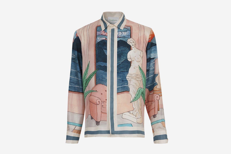 Chambre 602 Silk Shirt