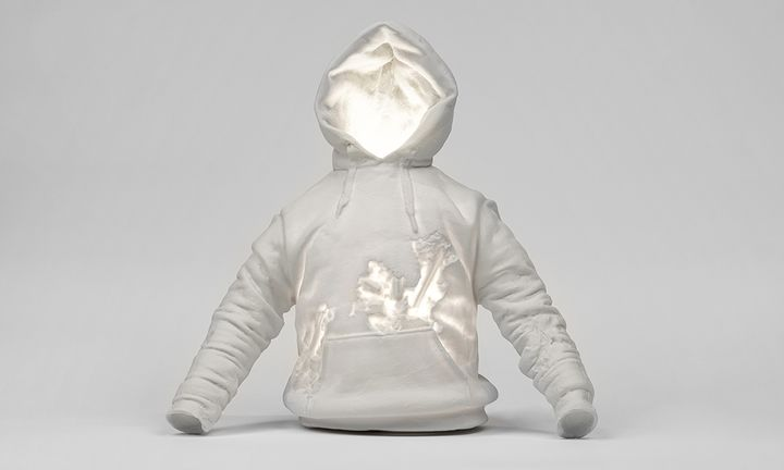 Daniel Arsham Case Studyo ERODED SWEATSHIRT