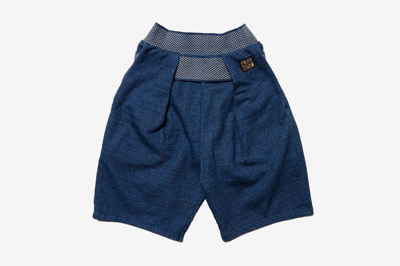 IDG Fleece Knit Shimokita Shorts