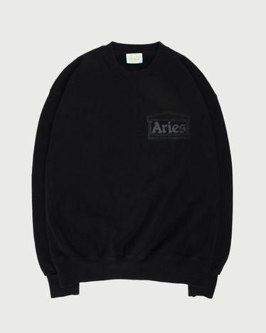 Aries - Premium Temple Sweatshirt Black