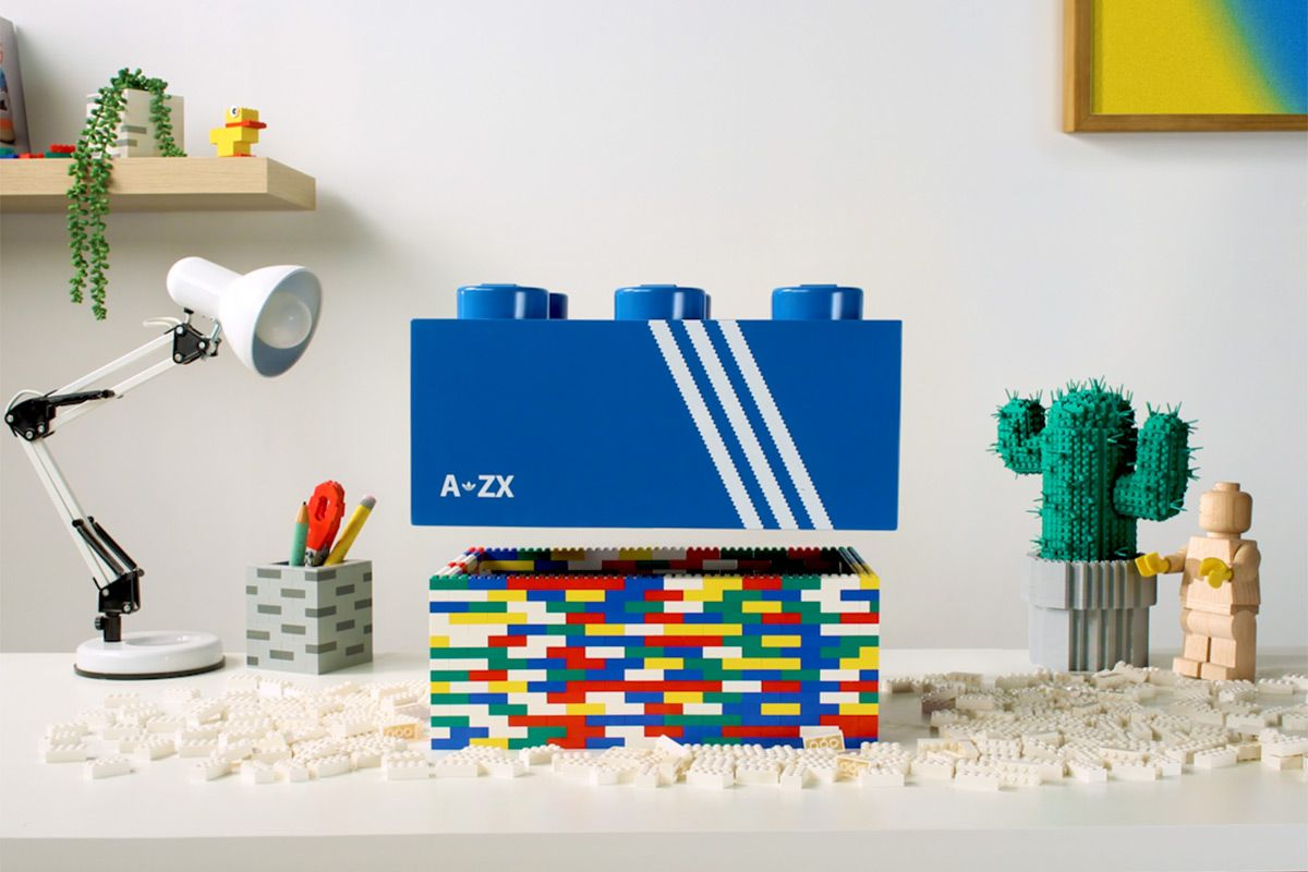 We've Got the Exclusive on LEGO's Nostalgia-Inducing adidas ZX Collab 3