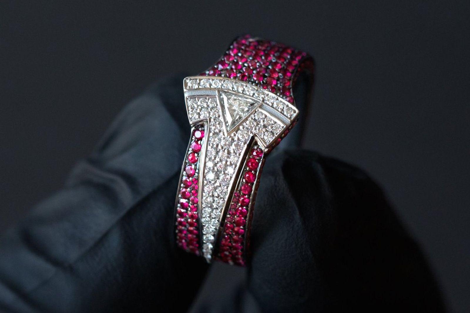 ben baller elon musk tesla diamond ring