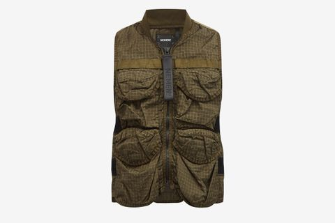 Spin Grid-Printed Shell Gilet