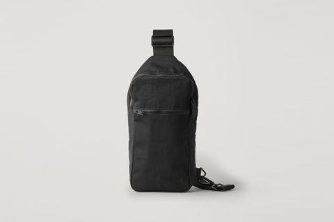 One Shoulder Zip Up Bag