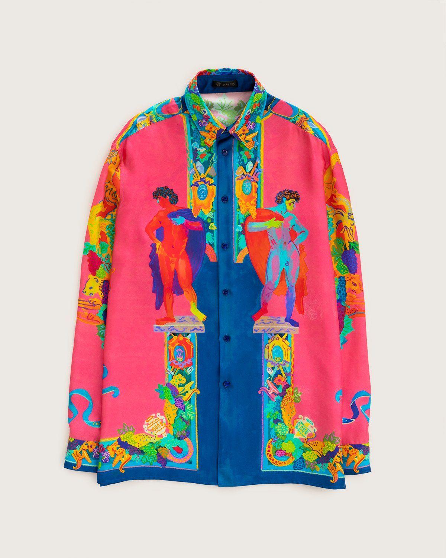 Versace —  Silk Shirt Multicolour - Image 1