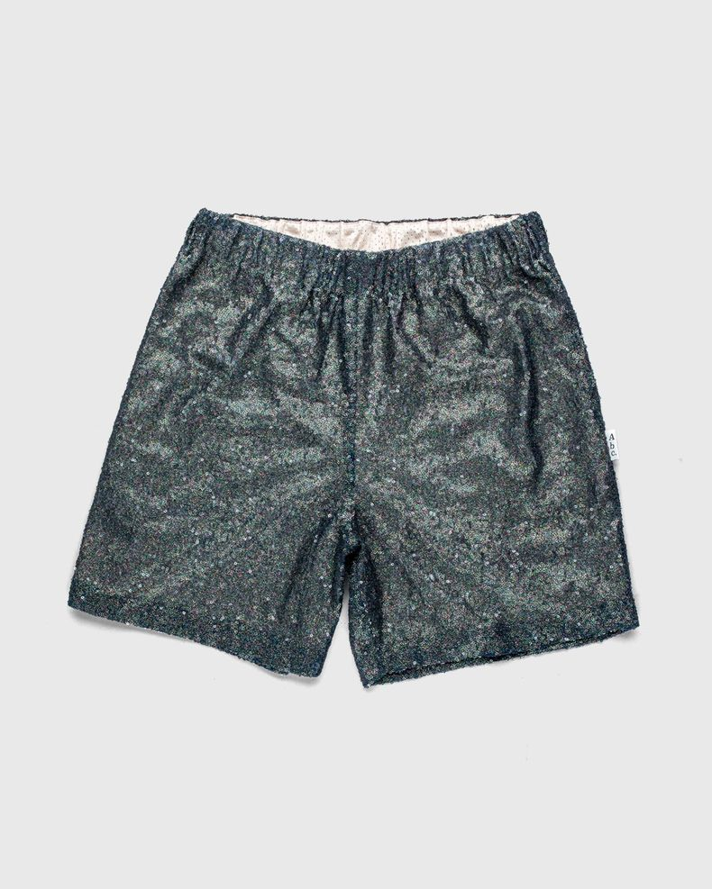 Advisory Board Crystals x Highsnobiety —  Sequin Shorts Black