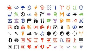 The Original Emojis Make Their Way Into the Museum of Modern Art