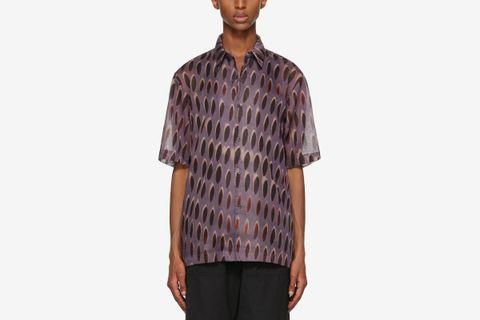 Len Lye Graphic Shirt