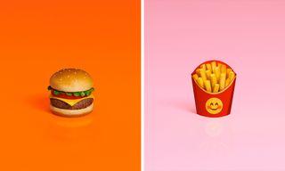McDonald's Trippy Ad Campaign Brings Emoji to Life