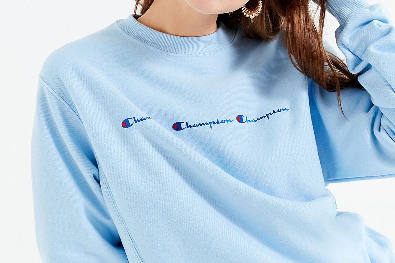 Reverse Weave Graphic Hoodie