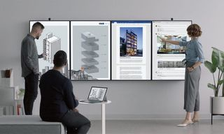 Microsoft Unveils Stunning Surface Hub 2 Display Designed for the Futuristic Office
