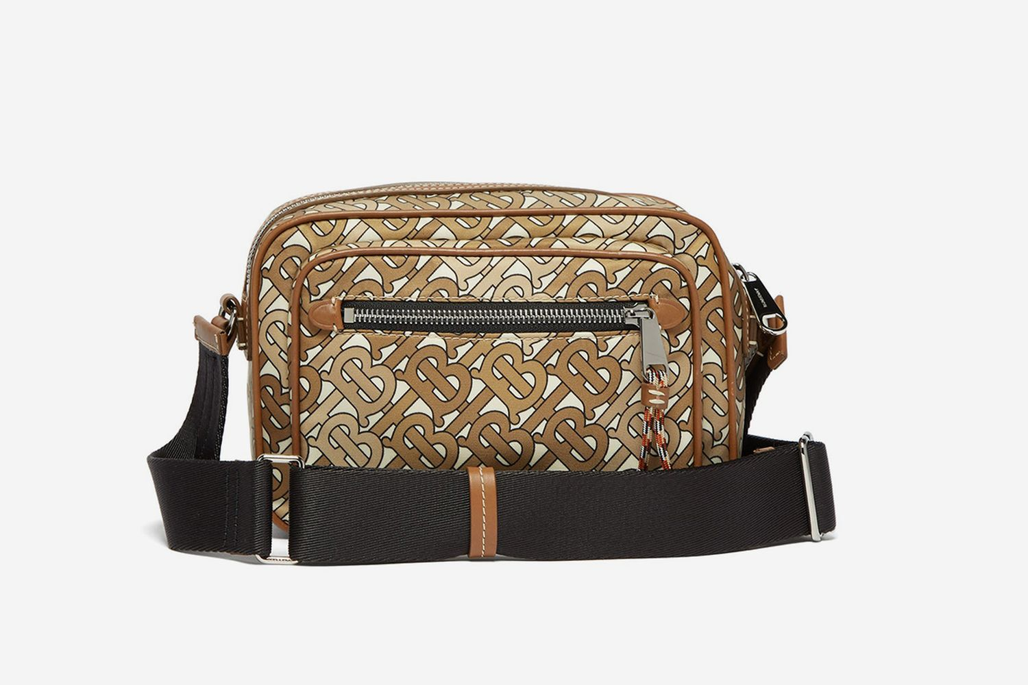 Monogram-Print Cross-Body Bag