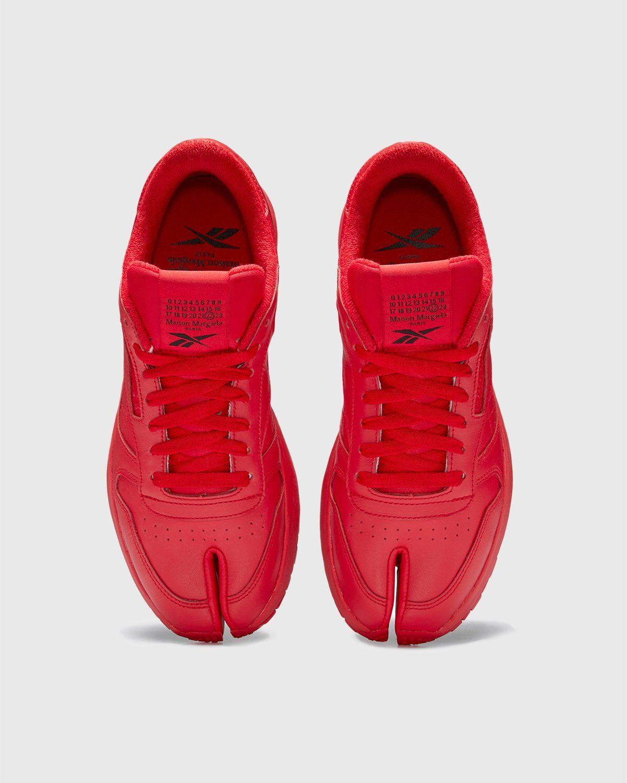 Maison Margiela x Reebok — Classic Leather Tabi Red - Image 4