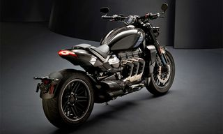 Triumph Teases Super-Limited Factory Custom Rocket Motorcycle