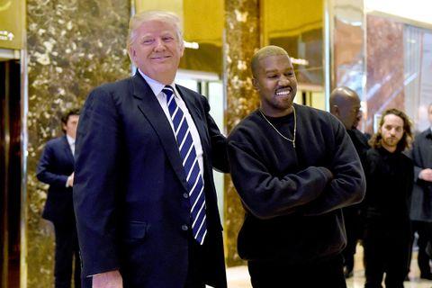 kanye president 2024 donald trump kanye west