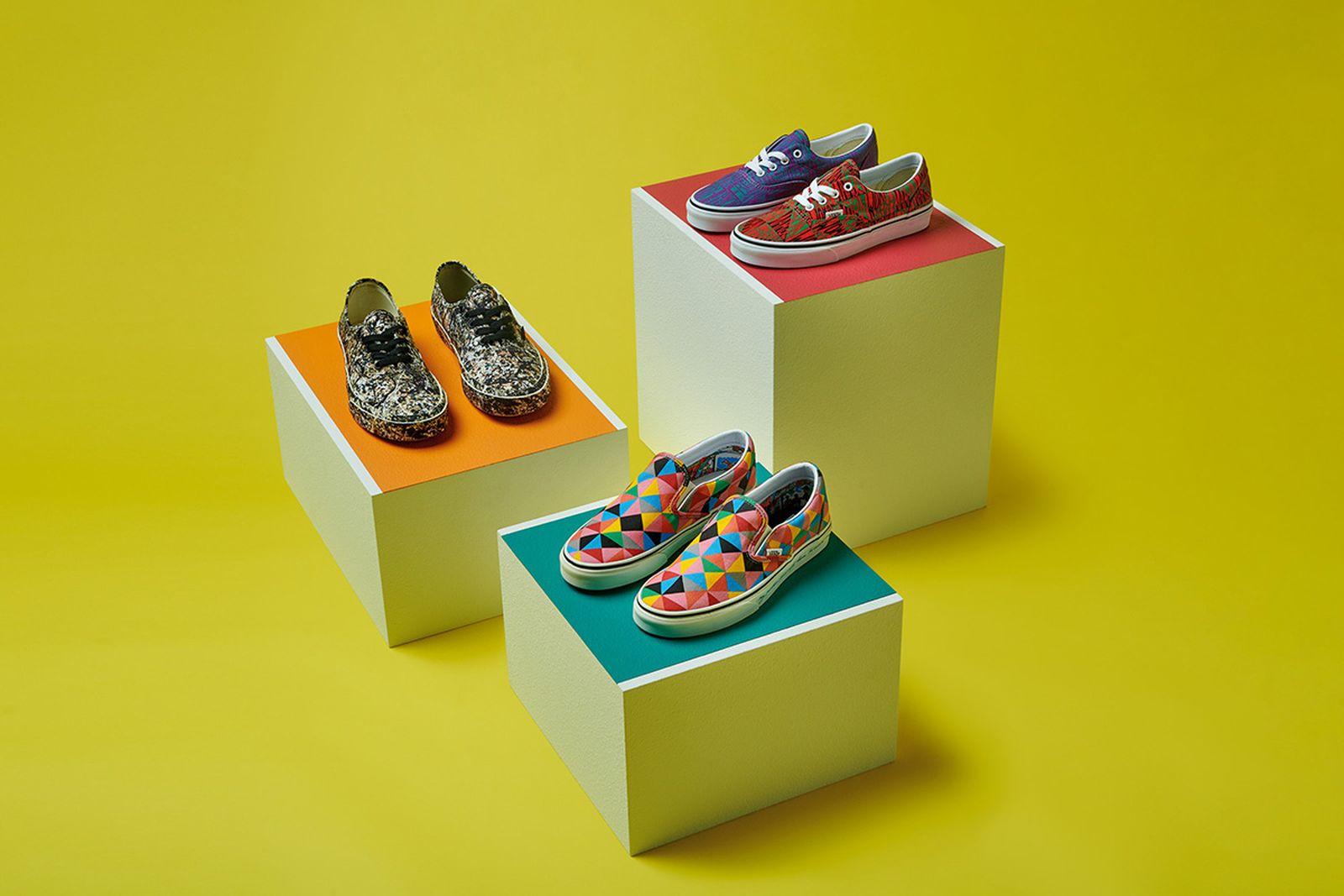 Vans x MoMA sneakers