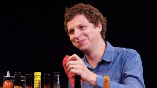 michael cera hot ones Superbad jonah hill