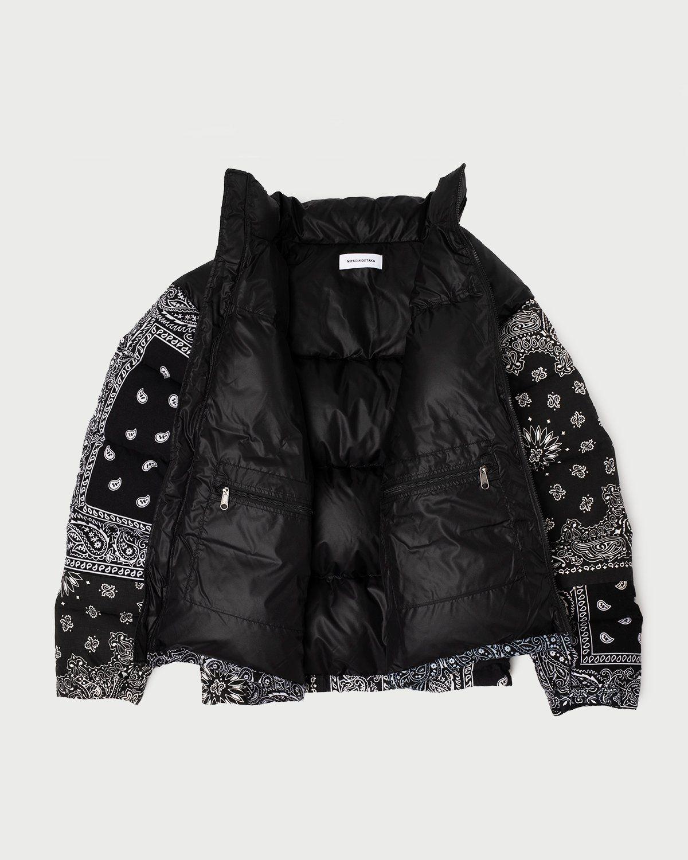 Miyagihidetaka — Bandana Down Jacket Black - Image 6