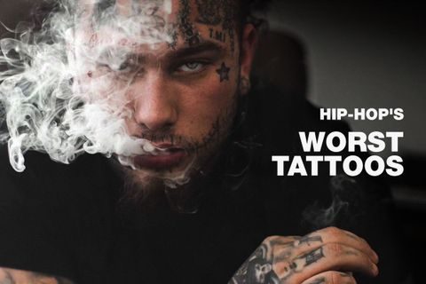 9c3447774e832 You'd be hard pressed to find a hip-hop artist out there whose body is a  clean slate when it comes to tattoos. Ink has always been an inherent part  of ...