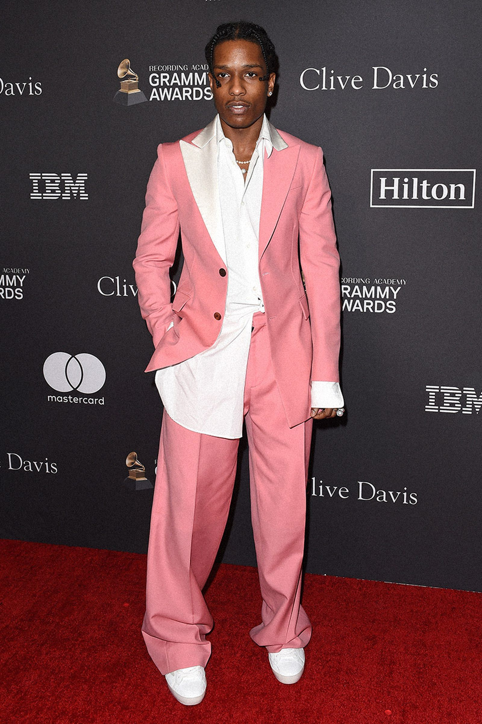 A$AP Rocky's Red Carpet Looks Have Come A Long Way