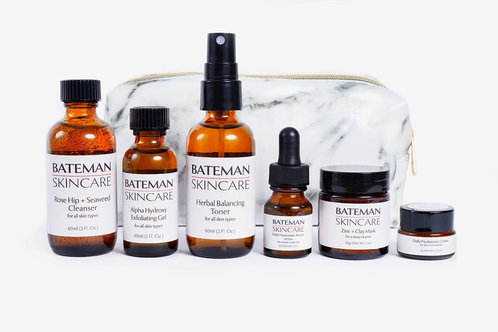 bateman skincare travel kit
