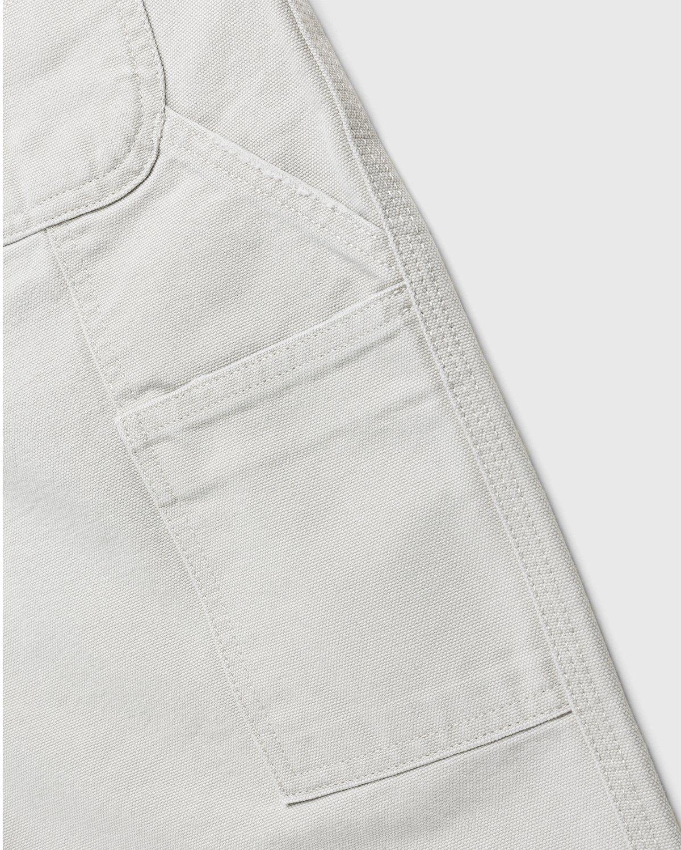 Carhartt WIP – Single Knee Pant Aged Canvas Grey - Image 4