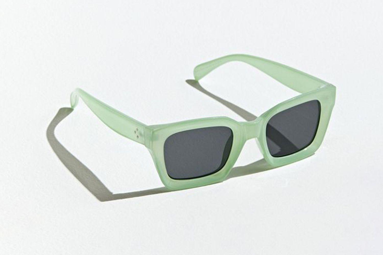 Beveled Square Sunglasses