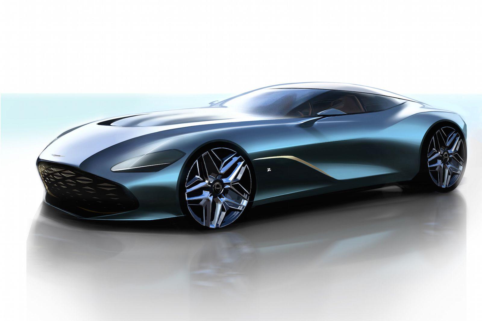 aston martin dbs gt zagato Aston Martin DB4 GT Zagato Continuation