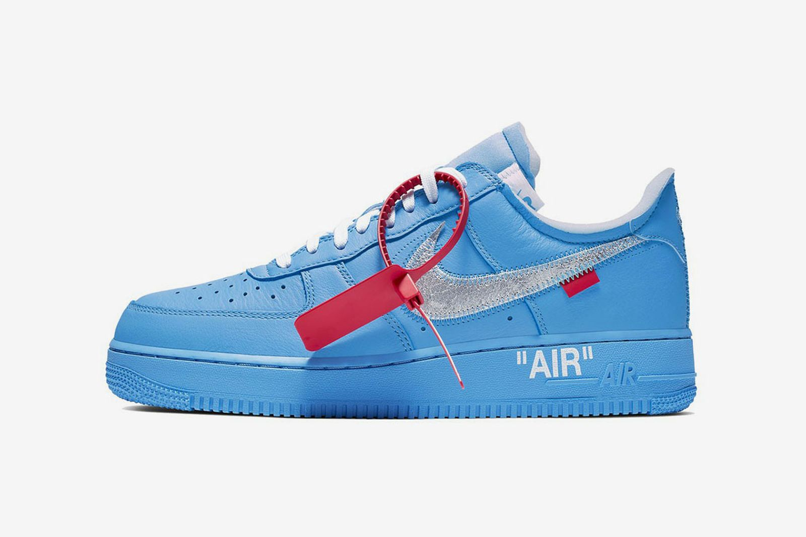 off white nike air force 1 mca chicago release date price OFF-WHITE c/o Virgil Abloh