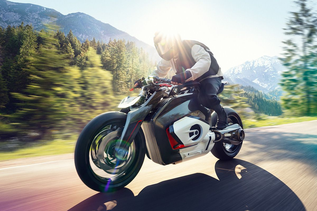 BMW's Electric Vision Motorcycle Is Straight From the Future