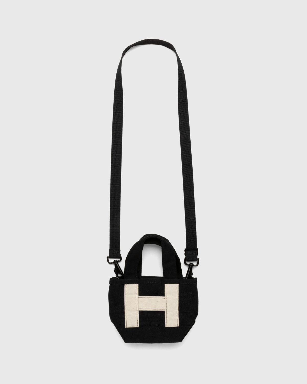 Highsnobiety – Heavy Canvas Small Crossbody Tote Black - Image 1