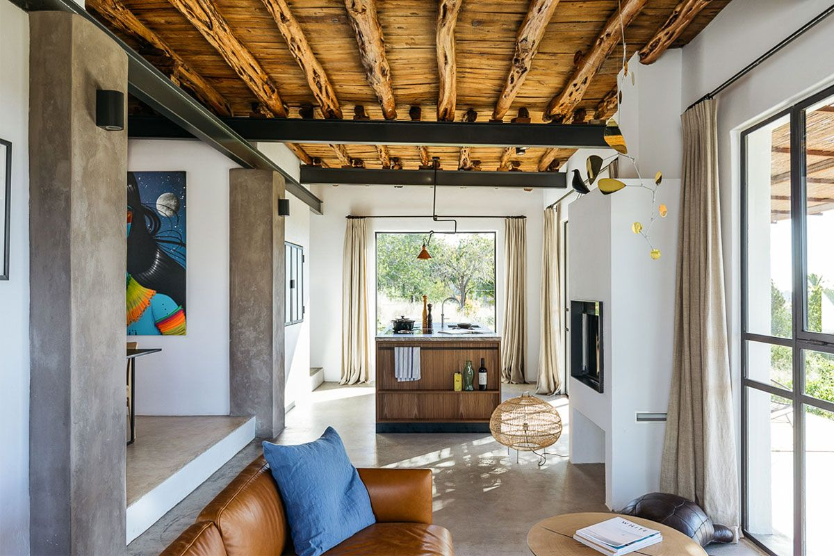 This Abandoned Ibiza Workshop Was Transformed into a Beautiful Living Space