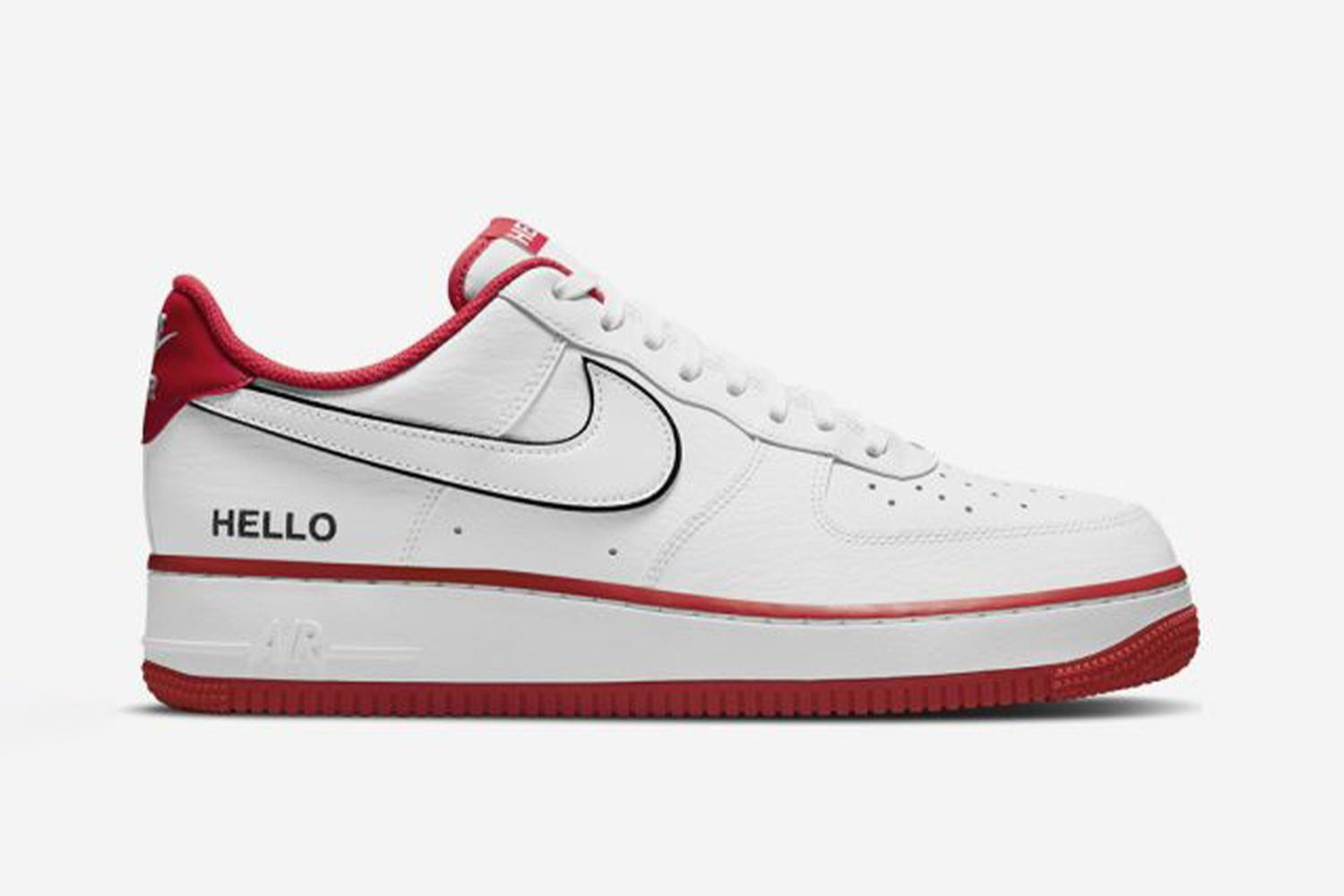 Baskets Air Force 1 07 LX Hello My Name Is