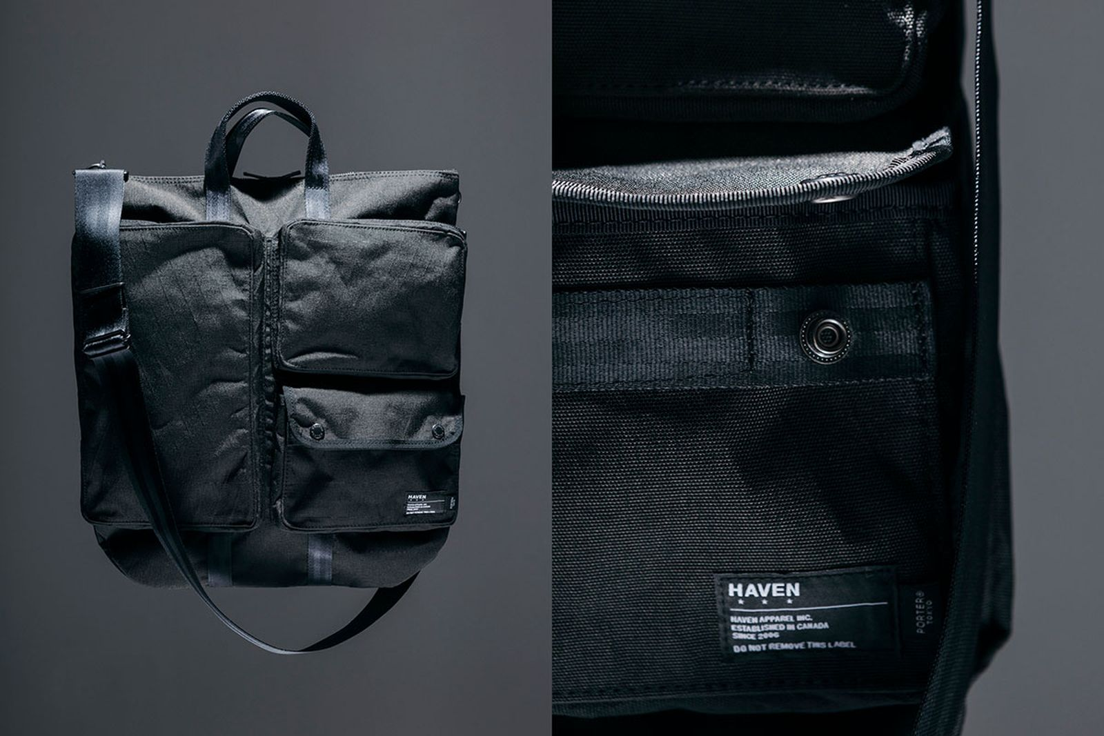 haven porter bag collection
